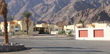 البيوت البدوية في طابا