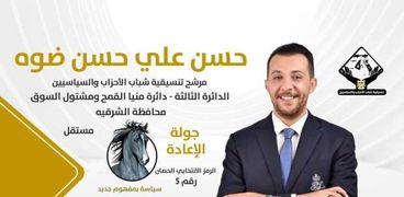 المهندس حسن ضوه، مرشح تنسيقية شباب الأحزاب