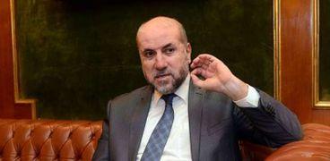 الدكتور محمود الهباش مستشار الرئيس الفلسطيني للشئون الدينية