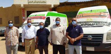 قافلة طبية تكشف على 3455 مواطنا في أسوان