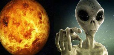 اكتشاف فضائيين من نوع آخر على كوكب الزهرة