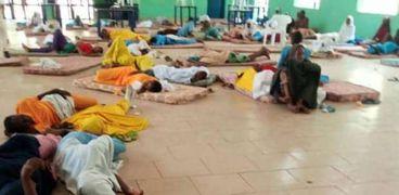 الطالبات المصابات في نيجيريا