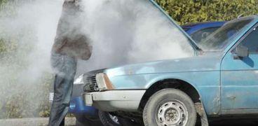سخونة محرك السيارة