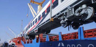 وصول دفعة جديدة من العربات الروسية لميناء الإسكندرية - صورة أرشيفية