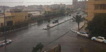 الأمطار فى مرسى مطروح