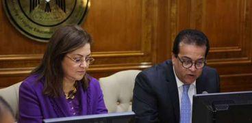 لقاء وزير التعليم العالي ووزيرة التخطيط