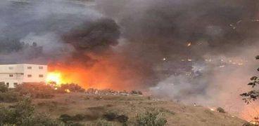 انفجار سابق فى سوريا