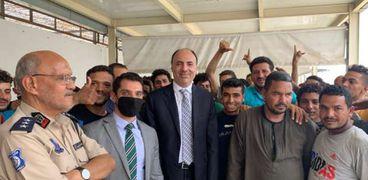 إطلاق صراح 90 مواطناً مصرياً محتجزين بمقر الهجرة غير الشرعية بطربلس