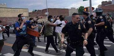 احتجاجات مقتل جورج فلويد في أمريكا