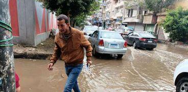 أمطار في محافظات الدلتا