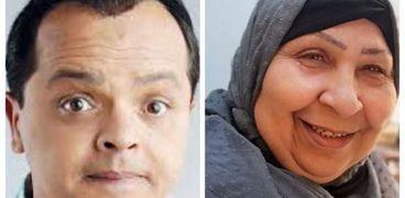 فاطمة كشري ومحمد هنيدي