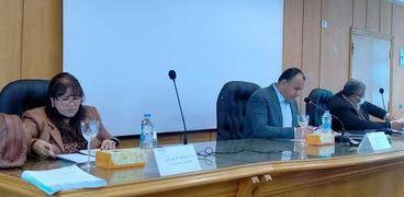 مجلس كلية آداب الإسكندرية