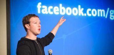 مارك زوكربيرج المدير التنفيذي لشركة فيسبوك