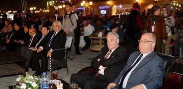 وزير الثقافة ومحافظ جنوب سيناء يفتتحان مهرجان شرم الشيخ