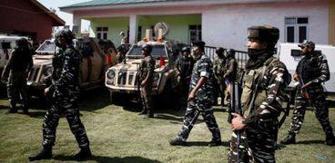 الشرطة في إقليم كشمير