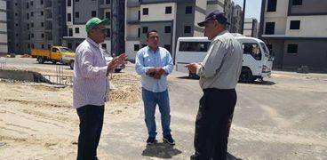 المهندس محمد رجب يواصل تفقد المشروعات الجديدة بالمنصورة ودمياط