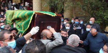 جنازة الدكتورة عبلة الكحلاوي
