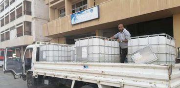 تطهير شوارع بورسعيد