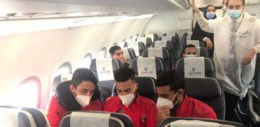 مصر للطيران تسير رحلة خاصة لنقل بعثة النادي الأهلي إلى النيجر