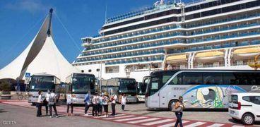 صورة لإحدى السفن السياحية