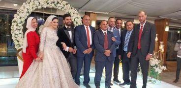 جانب من حفل زفاف شقيق محمد صلاح
