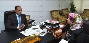 """الدكتور عمرو عثمان مدير صندوق مكافحة الإدمان فى حوار لـ""""الوطن"""""""