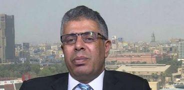 الكاتب الصحفي عماد الدين حسين، رئيس تحرير جريدة الشروق