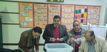 فرز اصوات الناخبين