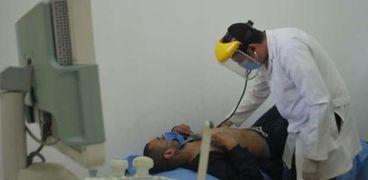 الكشف الطبى على نزلاء سجن القاهرة