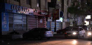 محال مغلقة ضمن الإجراءات الاحترازية لمواجهة كورونا عبر تبكير مواعيد الغلق