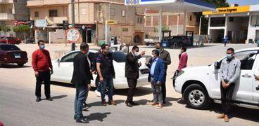 خلال تفقد محافظ لطريق مطروح الإسكندرية الساحلي الدولي