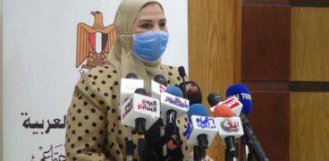 الدكتورة نيفين القباج وزيرة التضامن