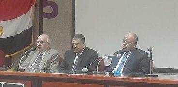 حفل تأبين الراحل الدكتور يوسف والي وزير الزراعة الأسبق بزراعة عين شمس