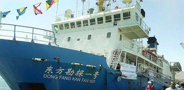 صناعة السفن الصينية