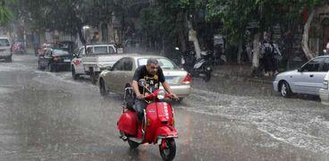 حالة الطقس اليوم في مصر أمطار وانخفاض في درجات الحرارة
