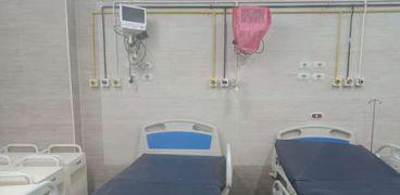 تشغيل 30 سرير عناية متوسطة لخدمة مرضى كورونا بمستشفى جامعة أسيوط الرئيسى