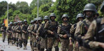 عناصر من الجيش الباكستاني
