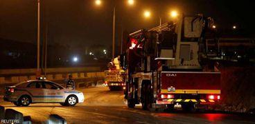 قوات الأمن الأردنية أغلقت الطرق المؤدية إلى مدينة الزرقاء.