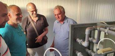 الزراعة: محطة لتحلية المياه بمحافظة مطروح من تصميم مركز بحوث الصحراء