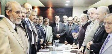 قيادات جماعة الإخوان الإرهابية