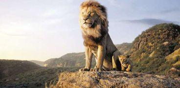 مشهد من فيلم «The Lion King»
