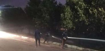 الحماية المدنية بقنا تخمد حريقا في أشجار على طريق «مصر أسوان».. صور