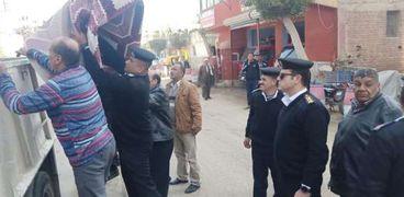 """لمواجهه """"الكورونا""""..إغلاق 35 كافيه وتحرير 234 مخالفة إشغالات بالغربية"""
