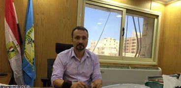 الدكتور محمد على وكيل وزارة الصحة في مطروح