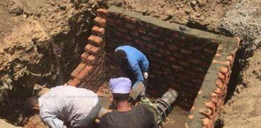 محافظ أسيوط : تركيب وإحلال وتجديد خطوط للمياه بقرى بديروط