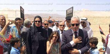 جانل من افتتاح مدرسة الشهيد ياسر الحديدي