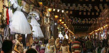 ليلة العيد في سوريا (أرشيفية)