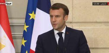 إيمانويل ماكرون الرئيس الفرنسي