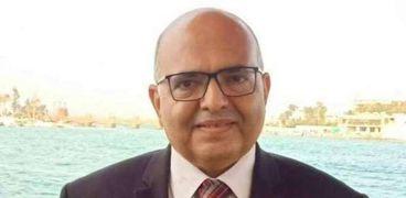 الطبيب المصري عصام المغازي، رئيس الجمعية المصرية لمكافحة التدخين والدرن وأمراض الصدر