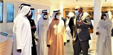 الشيخ محمد بن راشد يزور الجناح المصري المشارك في معرض إكسبو 2020 دبي